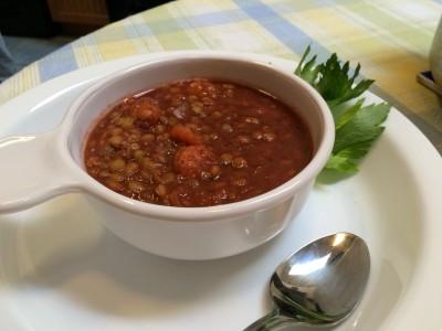 Vegan Lentil Vegetable Soup