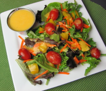 orange citrus vinaigrette dressing