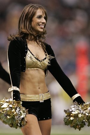 Vanessa Sardi New Orleans Saints Cheerleader